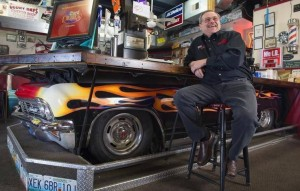 Fast Eddy at The Little BBQ Joint in Independence Kansas. Photo courtesy of Tammy Ljungblad-The Kansas City Star